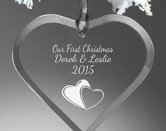 Create Your Own Heart Personalized Ornament