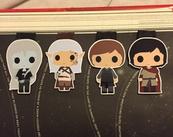 Assassin and Co. Magnetic Bookmark Set!