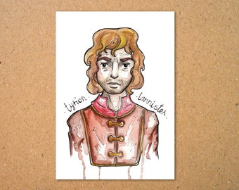 Original Tyrion Lannister Illustration