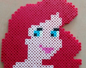 Ariel Little Mermaid Disney Perler