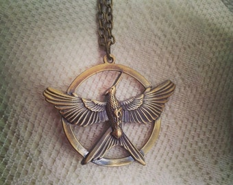 Mockingjay Part 2 Pendant Necklace
