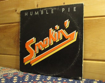 Humble Pie - Smokin' - 33 1/3 Vinyl Record
