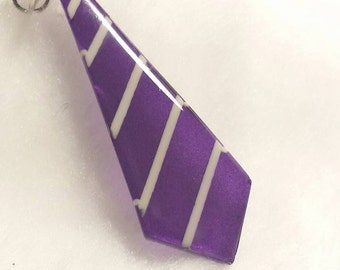 Resin Necktie Necklace