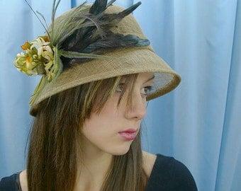 Anabella Olive Designer Hat - UH101