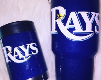 customized Sports yeti cups, yeti cup with decal football yeti, baseball yeti, basketball yeti etc.
