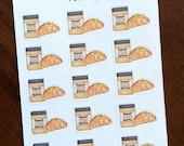 Peanut Butter Taco Stickers