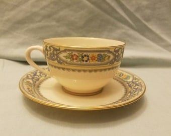 Lenox The Autumn Cup and saucer
