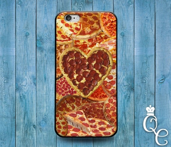 iPhone 4 4s 5 5s 5c SE 6 6s 7 plus iPod Touch 4th 5th 6th Generation Cool Food Italian Pizza Heart Funny Hip Phone Cover Cute Pepporni Case