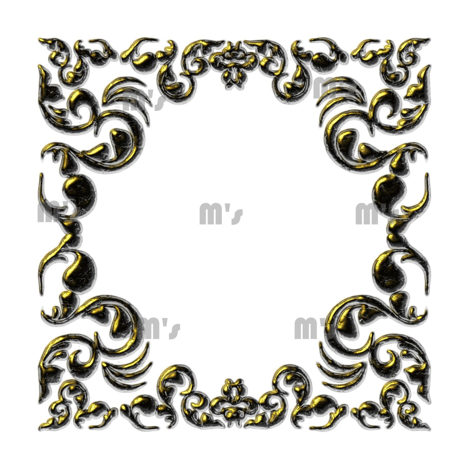 Heart frames labels gold enamel damask overlay transparent to this is a digital file jeuxipadfo Gallery