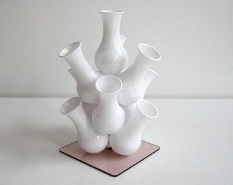 Vase with vase, Flower Festival, 70s, vintage