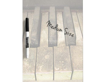 Dry Erase Board w/ Marker, A Melody Left Abandoned, 2 Sizes Available!