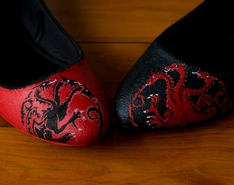 Game of Thrones Targaryen Flats