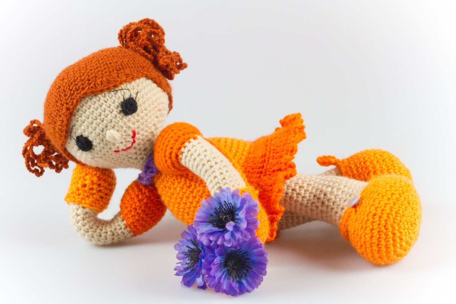 Amigurumi Square Doll : Crochet Doll Pattern Amigurumi Girl Pattern Crochet Girl