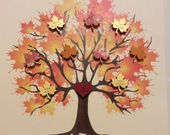 Family Tree 3D Paper Art