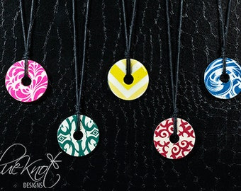 Handcrafted Washer Necklace with Gift Box
