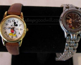 Mickey Mouse Watches; set of Two