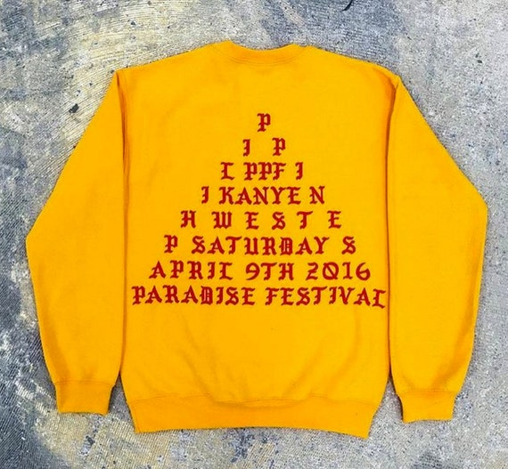 The life of pablo yeezy kanye west pablo paradise by teesdeals for Life of pablo merch