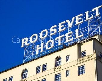 Roosevelt Hotel Canvas Wall Art