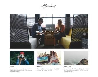 Beelient - A Responsive Blogger Blog Template