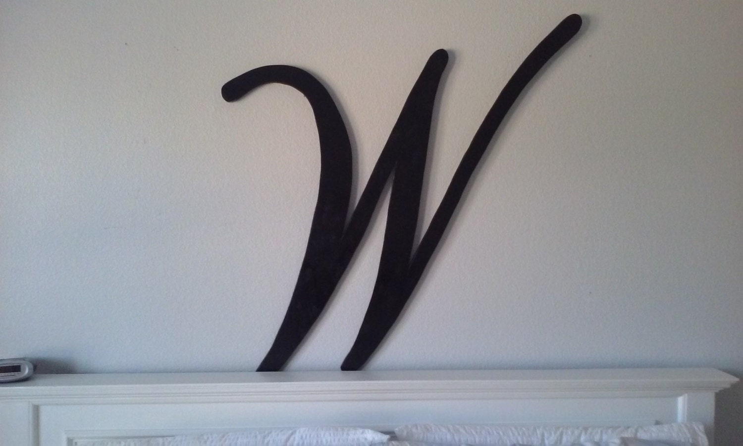 large wall letter wall decor letters 40inches. Black Bedroom Furniture Sets. Home Design Ideas
