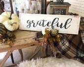 """Grateful 6"""" x 24&quo..."""