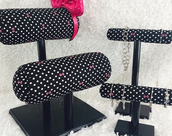 BUNDLE! Double Row Mouse Ear Display, Necklace Display and Bracelet Display