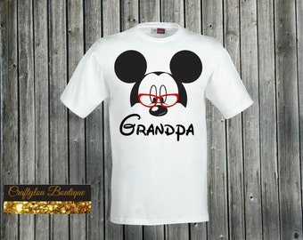 Grandpa Disney Mickey Shirt