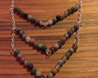 Earth Toned Bohemian Necklace