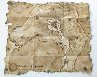 Oblivion Collector's Map