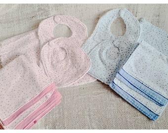 Baby Gift Set Bibs/Burp Cloths