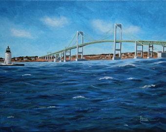 Newport RI Bridge