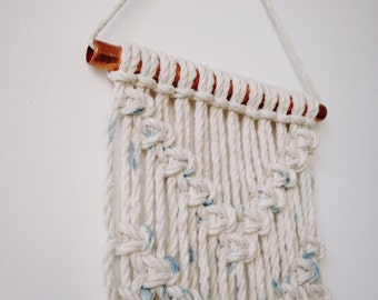 Hand painted Macrame wall hanging