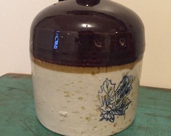 Western Stoneware half gallon jug