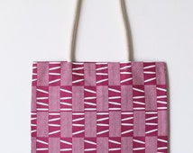 Cloth - Wax red bag - handmade with love