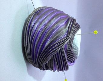 Silk ribbons Shibori N 88