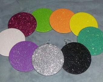 """Custom """"solid color"""" earrings"""