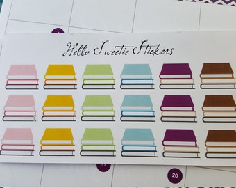 Books Stickers