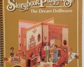 RESERVED for Julie d. Hallmark Storybook Playhouse, Dream Dollhouse, Vintage Punchouts, Standup Book, Uncut