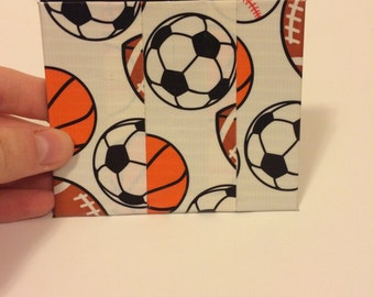 Sports Duck Tape Pouch