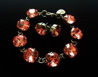 Swarovski Crystal Linked Bracelet