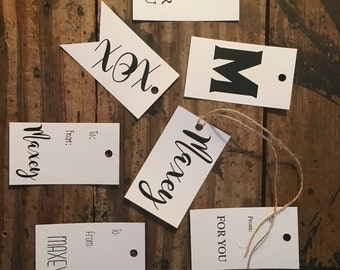 Personalized Gift Tags