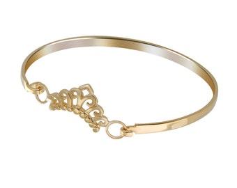 Gold Crown Bracelet, Delicate Crown Bracelet, Gold Cuff Bracelet, Gold Bracelet 14k, Gold Bracelet Cuff, Delicate Gold Cuff, Crown Jewelry