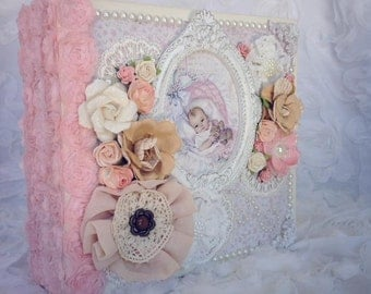 Maja Designs-Vintage Baby Girl Mini Album