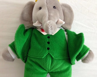 Babar the elephant soft toy by gund