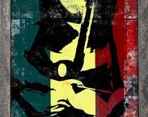 Popular Items For Bob Marley Wall Art On Etsy