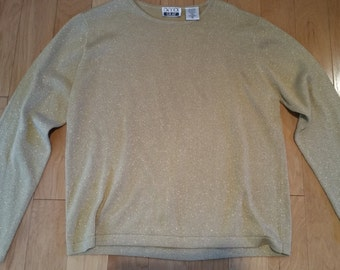 Vintage 80's gold sweater