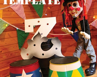 Circus Letter Light Z
