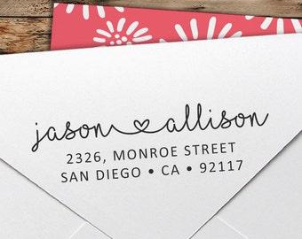 Personalized Return Address Stamp - Custom Rubber Stamp - Custom Return Address Stamp - Custom Stamp - Personalized Address Stamp - RA033