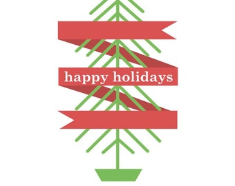Happy Holidays - Holiday Greeting Card