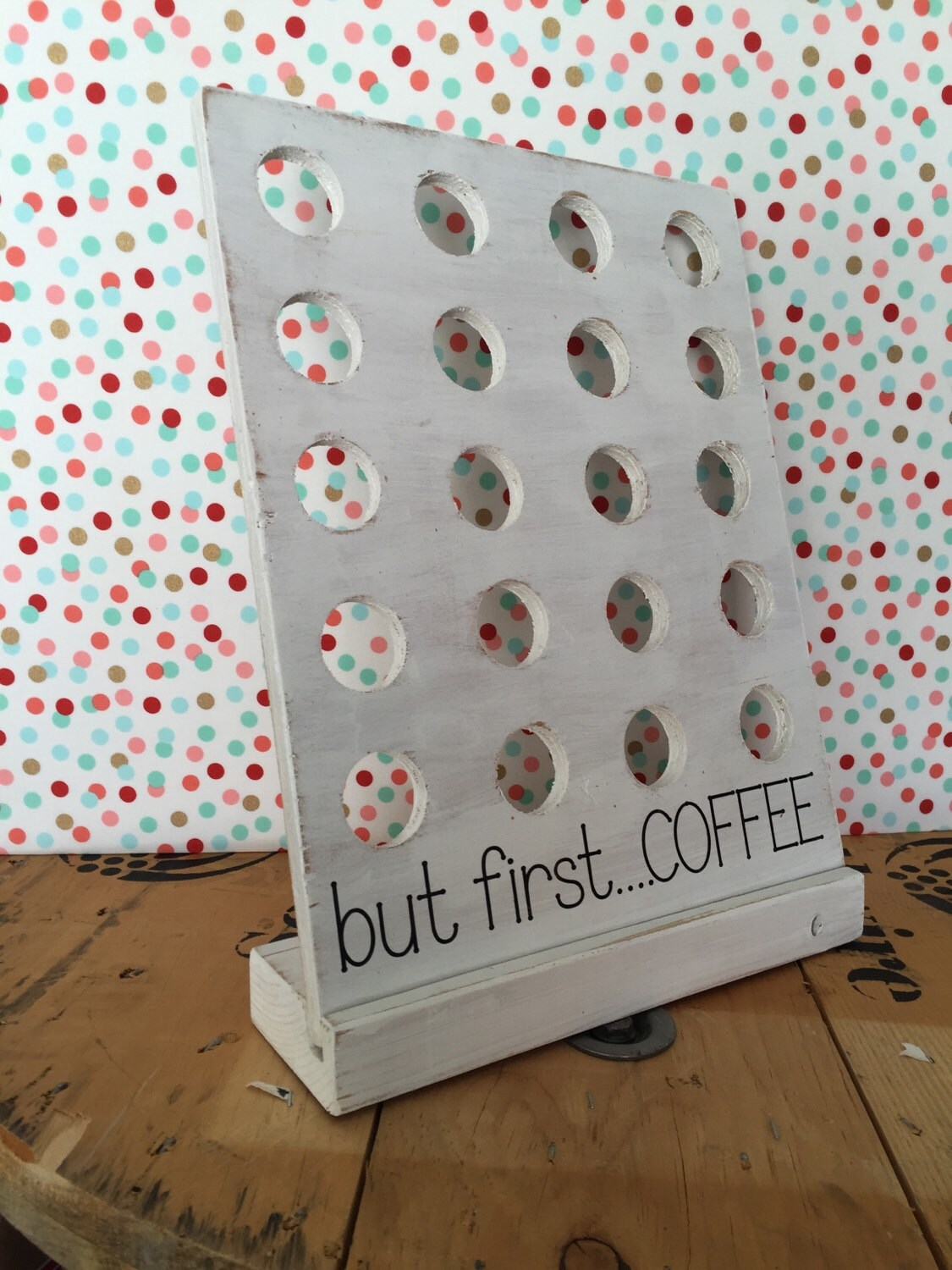 K Cup Holder By Becauseisaidsodecor On Etsy